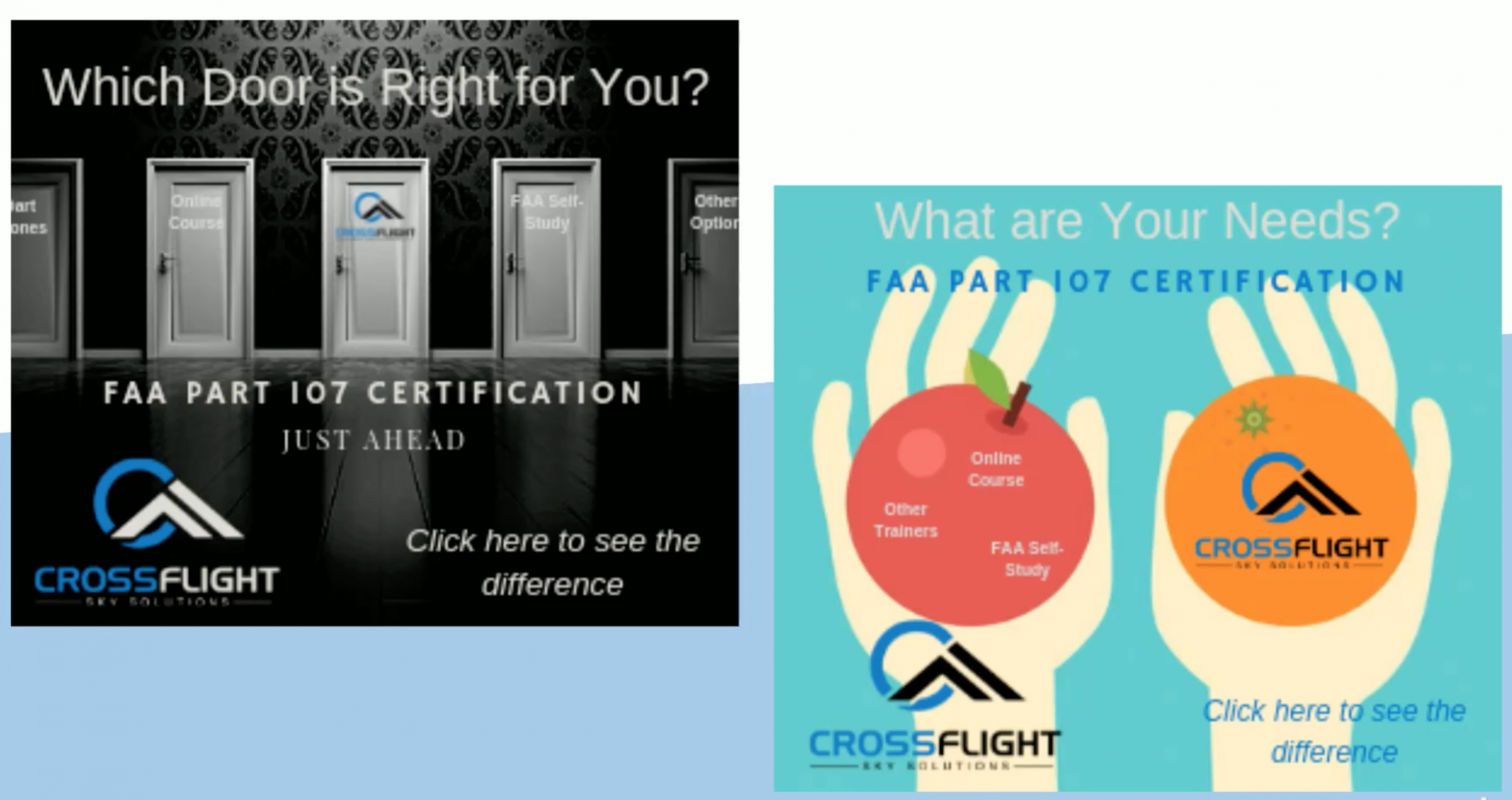 Why CrossFlight is the right solution for drone training?