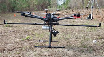 LiDAR Drone CrossFlight Sky Solutions