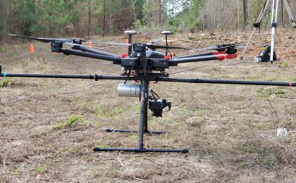LiDAR Drone CrossFlight Sky Solutions